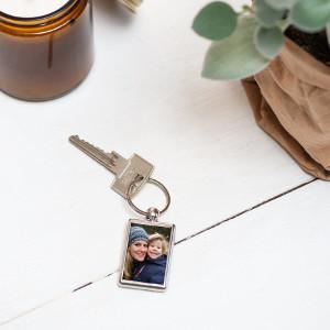 Mors dag nyckelring med foto - Personlig morsdagspresent